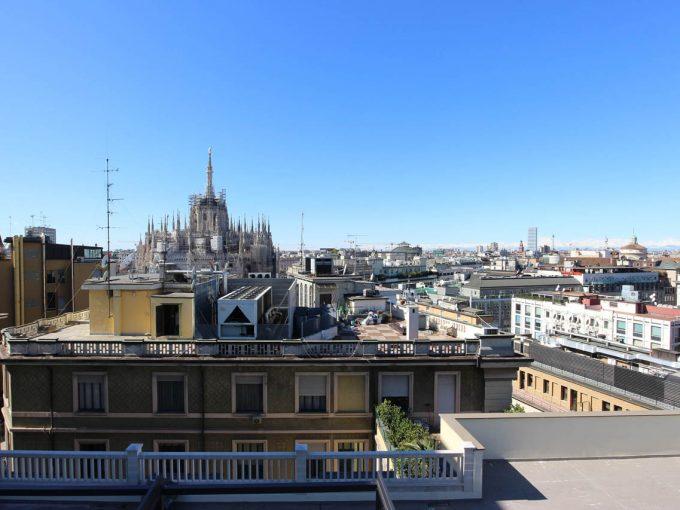 Un terrazzo su Piazza Duomo