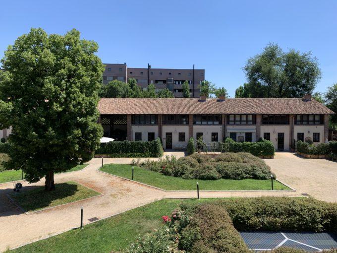 Villa Durini al Ronchetto sul Naviglio: trilocale con vista sui giardini