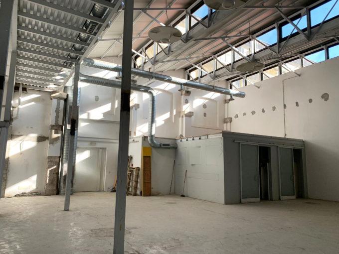 MM Lodi – show room – laboratorio