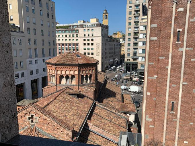 Trilocale con vista sulla chiesa di San Babila